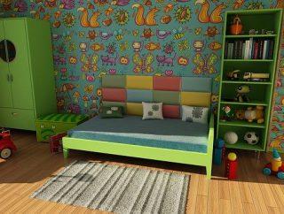 Wszystko o oświetleniu pokoju dziecięcego
